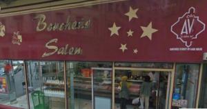 Boucherie-salam