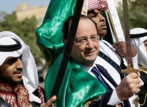 Hollande brandit le glaive de l'islam