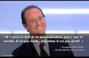 Hollande mondialisation