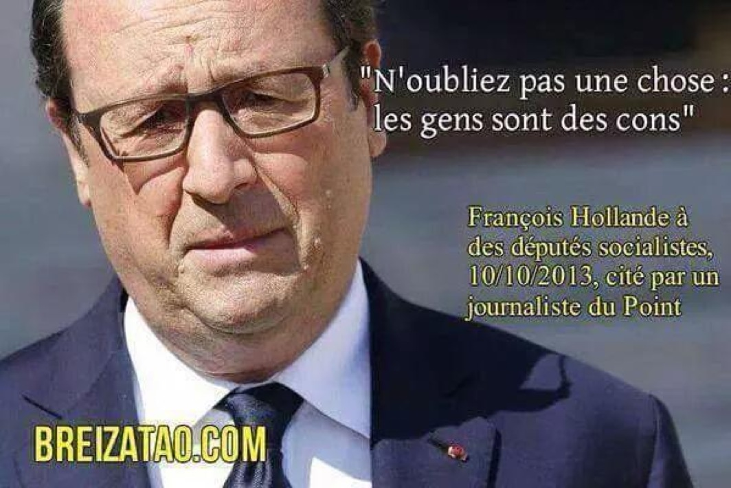 HOllande les cons