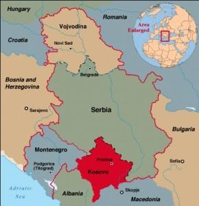 Kosovo-Carte