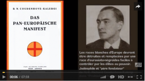 "LE PRÉTENDU ""PLAN KALERGI"" DE DESTRUCTION DE L'EUROPE (par l'Imprécateur)"