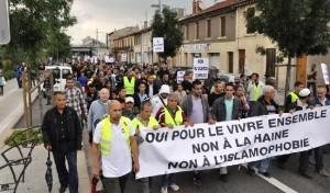 Valence - manif contre islamophobie