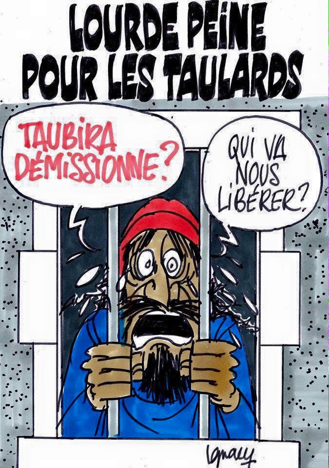 CHRISTIANE TAUBIRA : 44 MOIS D'ACHARNEMENT CONTRE LA FRANCE ! (par Marc Le Stahler)