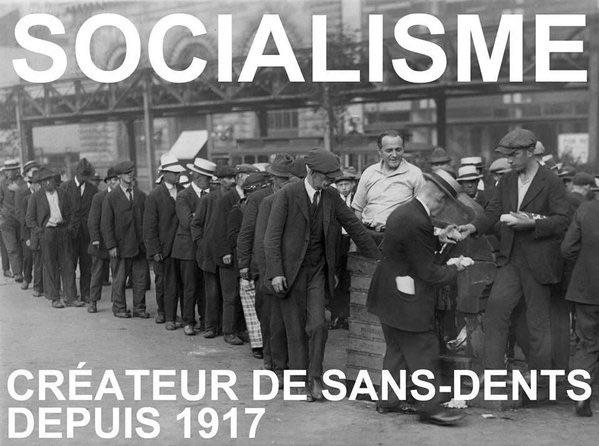 LE SOCIALISME, SYSTÈME GÉNÉRATEUR DE PAUVRETÉ (par l'Imprécateur)